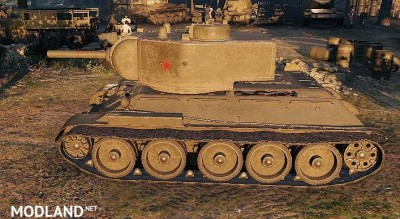 "T-34 Remodel ""T-34/122"" 1.0.1.1++ [1.0.1.1] - Direct Download image"
